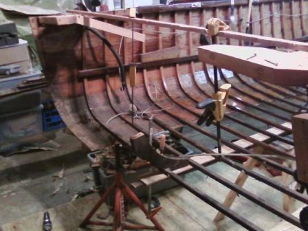 Transom removed